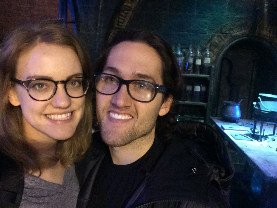 Selfie in the dungeon
