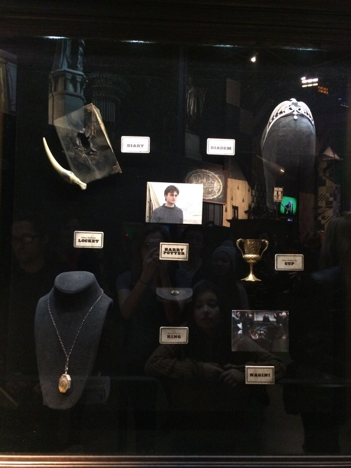 The collection of Horcruxes