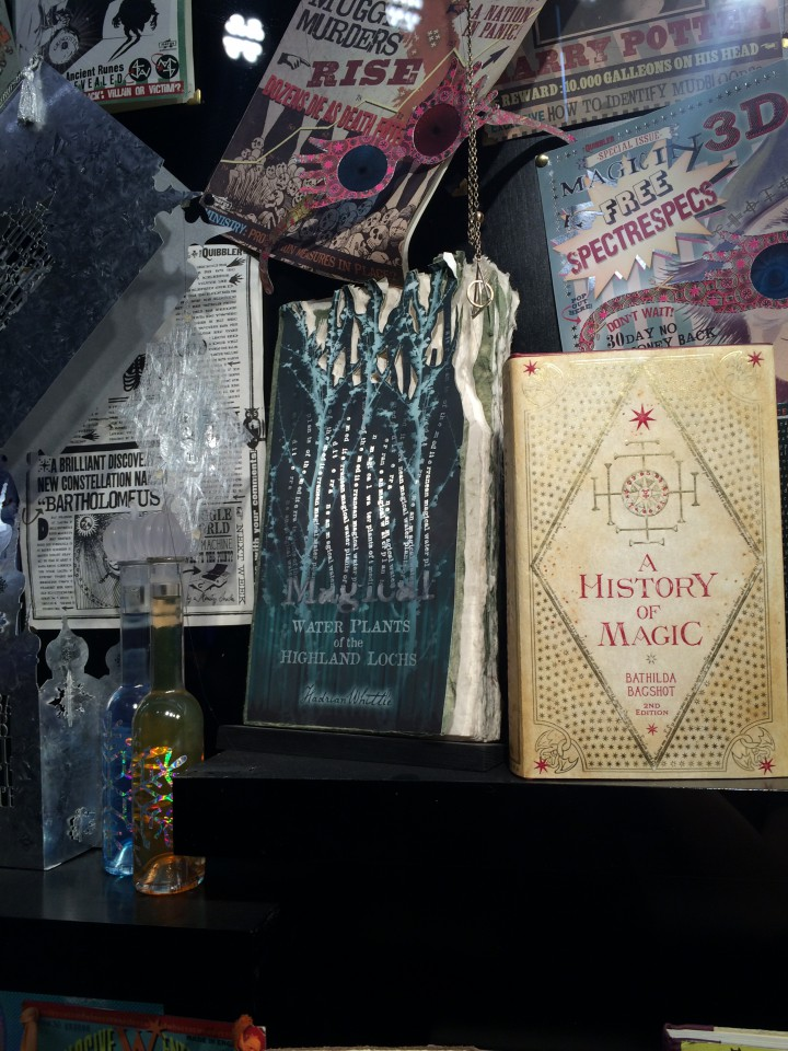 More wizarding books