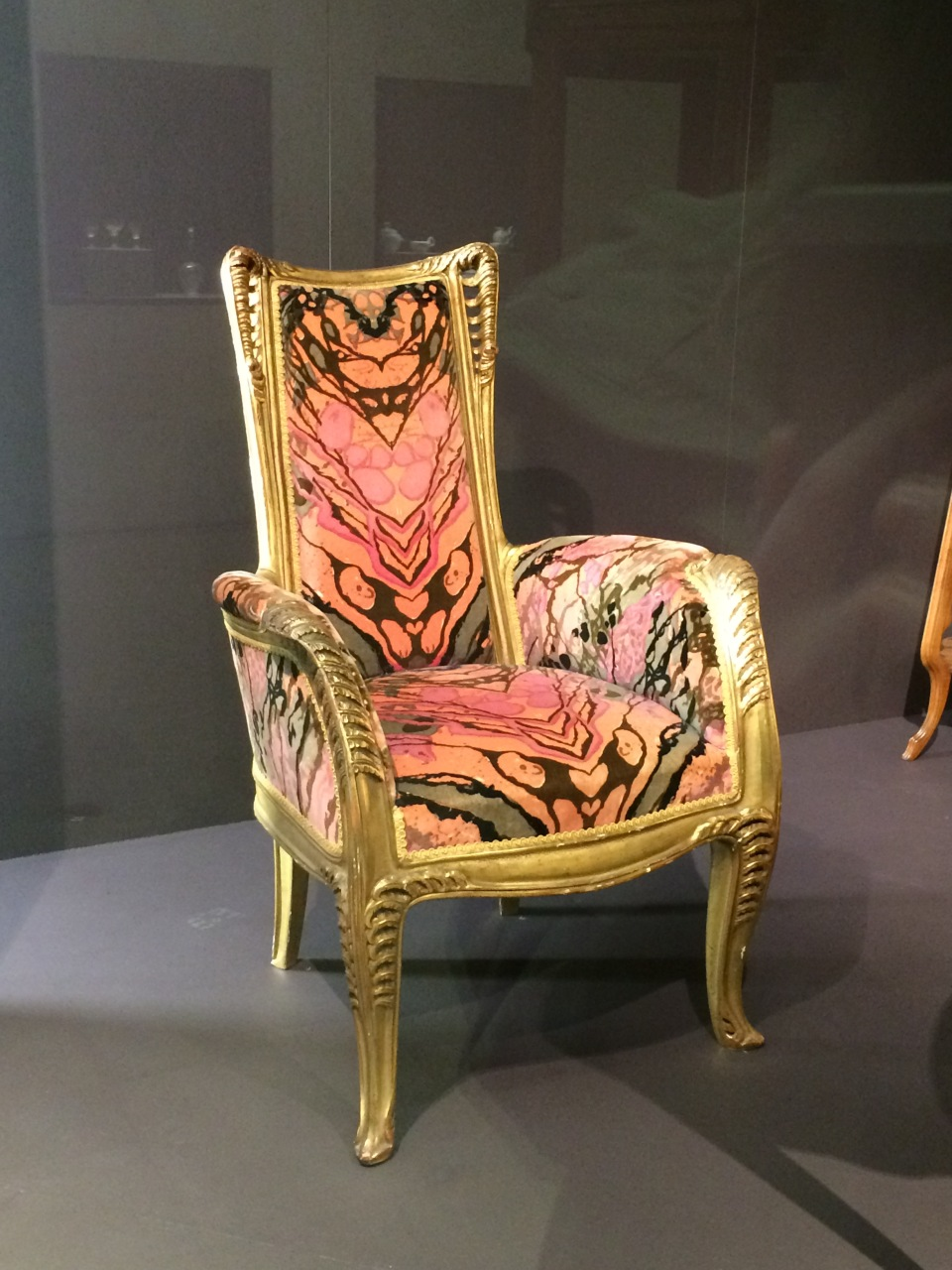Art nouveau chair